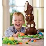 HearthSong Coupon: $10 off Orders: 3.5oz Small Funny Milk Chocolate Bunny Free, Madelaine Bunny Hop Hunt Premium Chocolates Free