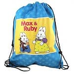 Max and Ruby Tote Drawstring Bag