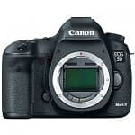 Canon EOS 5D Mark III 22.3MP Full Frame Digital SLR Camera (Body Only)