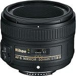 Nikon 50mm f/1.8G AF-S Lens (Refurbished)