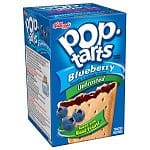 12-pack 8-count Pop Tarts Unfrosted Blueberry Toaster Pastries