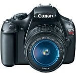 Canon EOS Rebel T3 12.2MP DSLR Camera w/ 18-55mm Lens + EF 75-300mm Lens + EF-S 55-250mm Lens + AmazonBasics Backpack