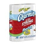 Charmin Ultra Strong Mega Rolls Toilet Paper: 18 Rolls $17 or 90 Rolls $71