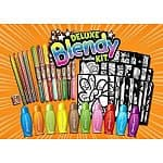Giddy Up Art Kits: Color Loco Deluxe Blendy Kit, 72-Piece Blendy Pens Mega Kit, Rub-N-Color Mega Kit, or Color Loco Dotza & Sprayza Art Kit