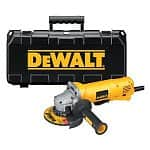 "Dewalt D28402K 4.5"" Small-Angle Grinder Kit + 2x Dewalt DW4523 General Purpose Metal Grinding Wheels"