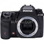 Pentax K-5 16.2MP Weatherproof DSLR Camera w/ 1080p Video (Body Only)