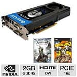 Galaxy GeForce GTX 670 2GB 256-bit GDDR5 PCI Express 3.0 Video Card (67NPH6DV5ZVX) + Assassin's Creed III & Borderlands 2 Game Coupons