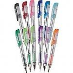 12-pack Staples Mini Gel Stick Pens (assorted colors)