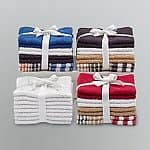 "8-Pack 12""x12"" Cannon Cotton Washcloths"
