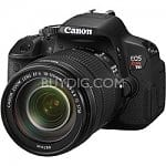 Canon EOS Digital Rebel T4i 18MP SLR Camera w/ 18-135mm STM Lens