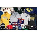 College and Pro-Sports Merchandise from SportsFreak365: $85 Worth for $39 or $50 Worth for