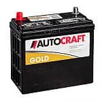 AutoCraft Gold Car Battery (500 CCA)