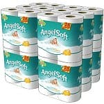 48-Count Angel Soft Double Roll Toilet Paper
