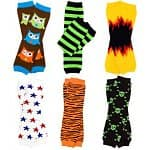 6-pack My Little Legs Boys' & Girls' Leg Warmers (various styles)