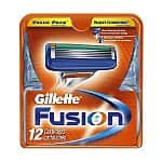12-Pack Gillette Fusion Manual Razor Cartridges