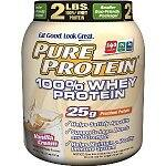 2lbs Pure Protein 100% Whey Protein (Vanilla Cream)