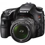 Sony Alpha SLT-A57K 16.1MP Digital SLR Camera w/ 18-55mm Lens + $150 Visa Gift Card