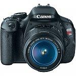 Canon EOS Digital Rebel T3i 18MP SLR Camera with 18-55mm Lens (Refurbished)