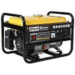 DuroStar DS4000S Gas Powered 4000 Watt Portable Generator $199.99 with free shipping *Price Drop*