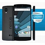 16GB LG Nexus 5 Unlocked Smartphone (Certified Pre-Owned) + FreedomPop Unlimited Talk, Text, 1GB Data Trial $149.99 with free shipping