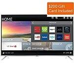 "55"" LG 55LF6100 1080p Smart LED HDTV + $200 Dell eGift Card  $699.99 with free shipping"