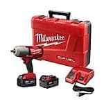 "Milwaukee M18 Fuel 18V Lithium-Ion Cordless 1/2"" Impact Wrench w/ Friction Ring Kit  $329.99 with free shipping"