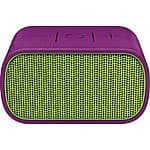 Logitech UE Mini Boom Wireless Bluetooth Speaker (Green/Purple)  $49.99 with free shipping