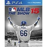 MLB 15: The Show (PS4) $19.99 with free store pickup