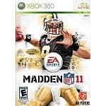 Madden NFL 11: Xbox 360 $30, PS3 $30, Wii
