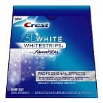 28-count Crest 3D White Advanced Vivid Whitestrips $15.50, 20-count Whitestrips with Advanced Seal Professional Effects Enamel Safe Dental Whitening Kit $17