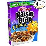 4-pack 18.2-oz Raisin Bran Crunch Cereal