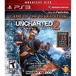 Uncharted 2: Among Thieves Game of the Year Edition Greatest Hits (PS3)