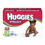 192-count Huggies Snug & Dry Diapers (Size 1-2)