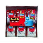 "6-pack Scotch Packaging Tape (2""x800"")"