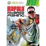 Rapala Pro Bass Fishing with Rod (Xbox 360) + Two Cabela's Dangerous Hunts 2011 with Gun (Xbox 360)