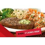 TGI Friday's: Free Entree with Purchase of Regular Priced Entree & Two Beverages