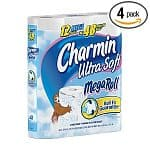 48 Rolls of Charmin Ultra Soft Mega Rolls