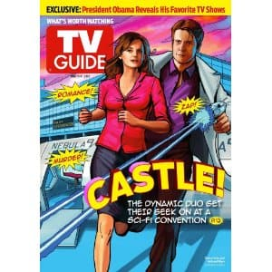 TV GUIDE Magazine One Year Sub PRINT AND KINDLE $5!! (remove auto renew after)
