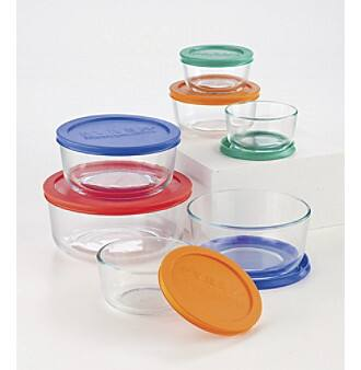Pyrex Storage Sets: 14-piece Container Set $10 after $10 rebate, 8-piece Deluxe Bowl Set $10 after $10 rebate + Free Shipping