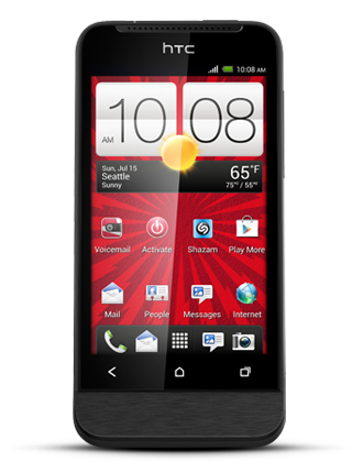 Virgin Mobile HTC One V Prepaid Smartphone $50 + Free Shipping