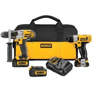 Dewalt 20V Max Lithium-Ion Drill Driver and 12V Max Screwdriver Combo Kit (DCK295L3) $169 + Free Shipping