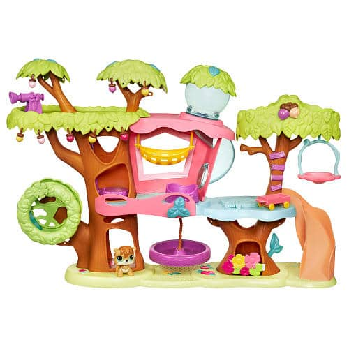 50% off Littlest Pet Shop Toys + Extra 25% off: Magic Motion Treehouse Playset $15, Ultimate Pet Collection Set $9.50, Pet Hotel Playset $11, Radio Control Vehicle with Pet $8.50 &