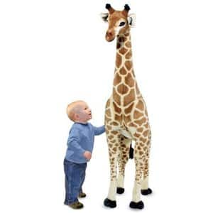 "(Amazon) Melissa & Doug 57"" Tall Giraffe Plush $45 + FS"
