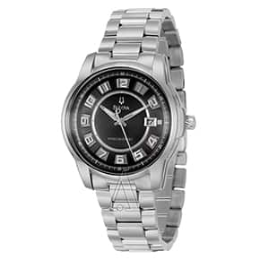 BULOVA Men's 96B129 Precisionist Stainless Steel Watch - $99 w/ FS @ Ashford