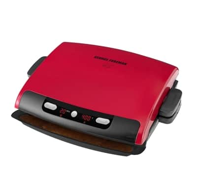 George Foreman 6 Serving Removable Plate Grill - $15.99+$12 Flat Rate Shipping