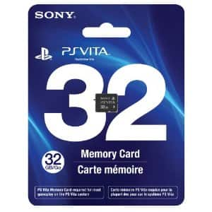 PlayStation Vita Memory Cards: 32GB for $60, 16GB for $36, 8GB for $18, 4GB for $12 + Free Shipping