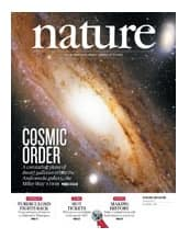 One year subscription to the scientific journal Nature for $36 (82% off MSRP $200)