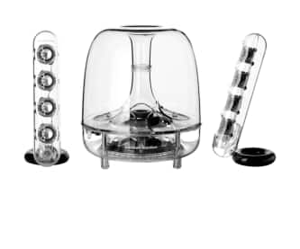 Harman Kardon Soundsticks III 2.1-Channel Multimedia Speaker System with Subwoofer (Refurbished) $100 + Free Shipping