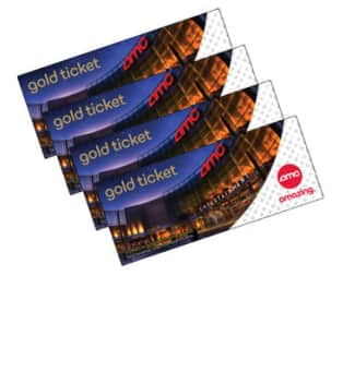 AMC Gold Movie Tickets 10 Pack for $71.99 @ costco.com for Members