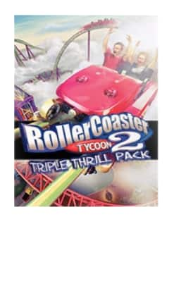 Rollercoaster Tycoon 2: Triple Thrill Pack (PC Digital Download) $4